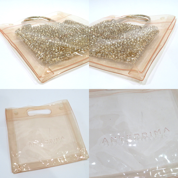 1539e72216 Collection KOBE by BrandRitz: Used Ante prima ballerina clear bag ...