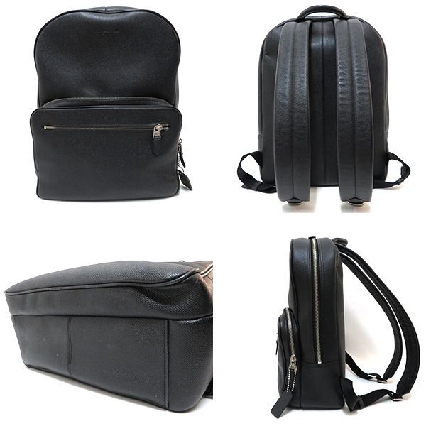 f1f8dc0b6 ... an attending school bag by a black color of popularity to ♪♪ man who  can use it widely including the business scene from the coach cross grain  leather ...