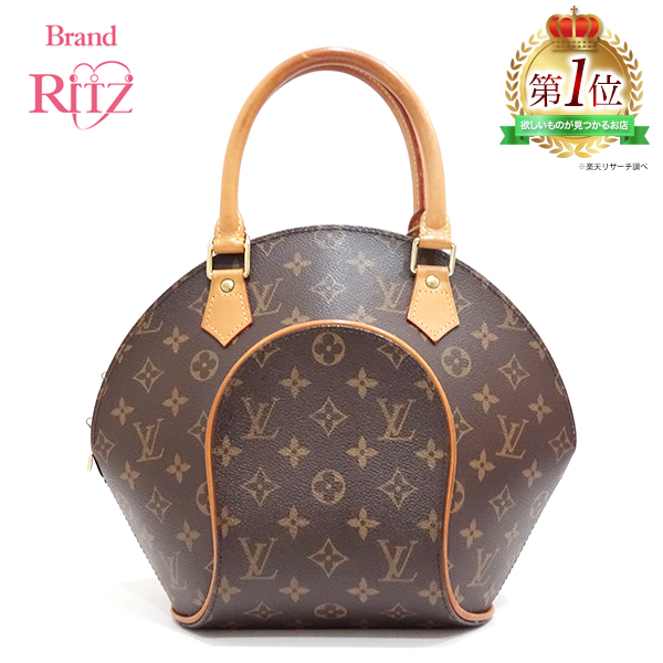 Used Louis Vuitton Bags >> Tea Based M51127 Lady S Louisvuitton Of Used Louis Vuitton Bag Handbag Ellipse Pm Monogram Brown Line Is Used