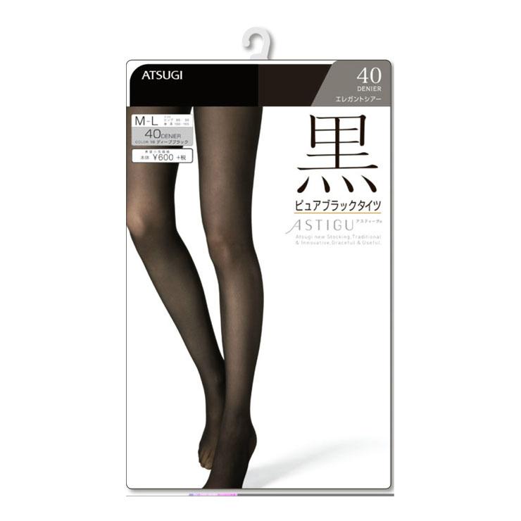 a053ca5f689 Pure black tights black tights Atsugi Austin g (6199)   black   tights  tights ...