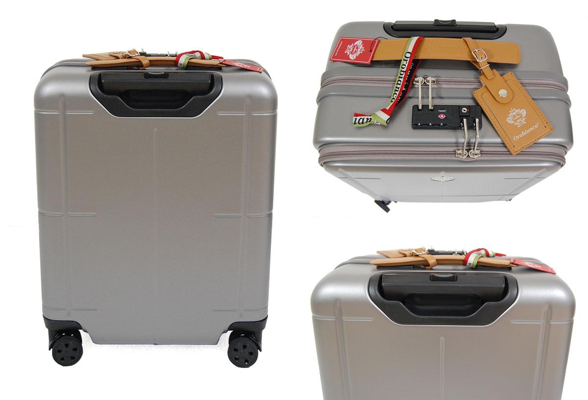 【ポイント20倍】【正規品オロビアンコ】オロビアンコ Orobianco バッグ ARZILLO 09712 アルジーロ 縦型 35L スーツケース キャリーバッグ 大容量 軽量3.8kg グレー GRAY 機内持ち込み可能サイズ 外寸合計115cm 日本製