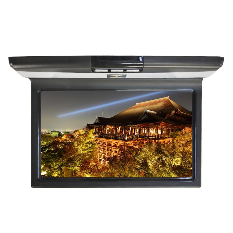 10.1インチ 車内用 フリップダウンモニター 超薄型軽量モデル WSVGA高画質液晶 ルームランプ フリップダウン モニター 日本車対応 日本語対応 安心の保証付き 1024×600px リモコン操作 LED 天井取付型 カーモニター 動画 映画