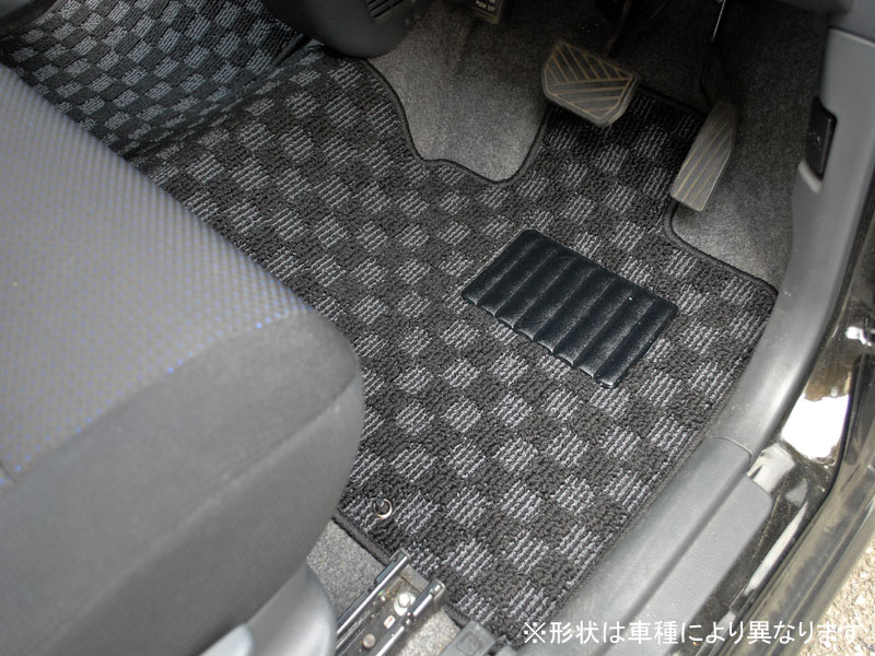 【アウトレットセール大幅割引】トヨタ ポルテ NCP145/NCP145 車種専用設計スポーツチェックフロアマット