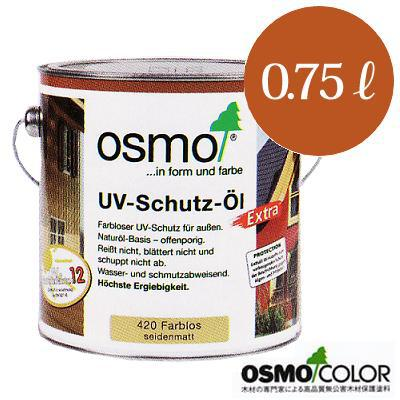 Osmo color # 420 scribbling wood stain clear plus 0.75 L, osmo, Osmo, outdoor, wood, Sun protection, UV protection and water repellent, clear finish, Osmo color dealer
