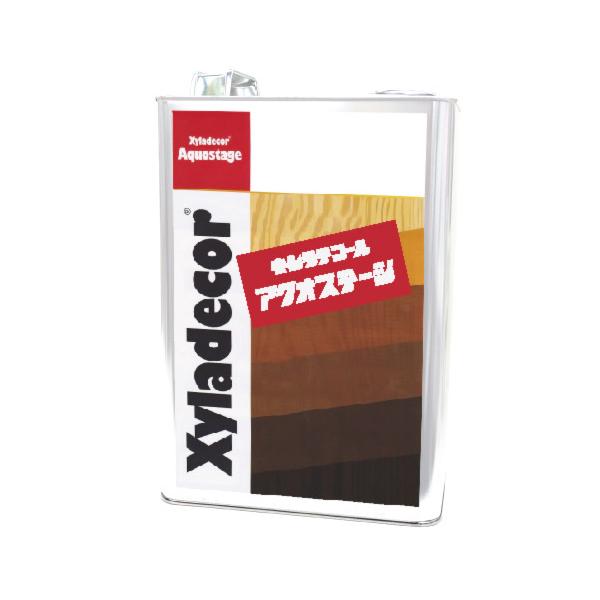 キシラデコール アクオステージ 405 カスタニ [3.5kg] XyLadecor 水性 屋外木部用 木材保護塗料