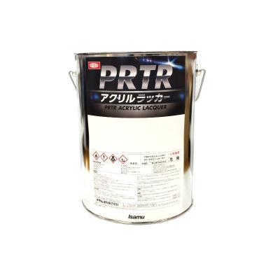 イサム塗料 PRTRアクリルラッカー ブライトレッド つや有り [4kg]