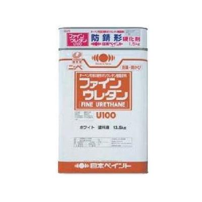 【送料無料】 防錆形ファインウレタンU100 (ND-011)つや有 [15kgセット] 日本ペイント