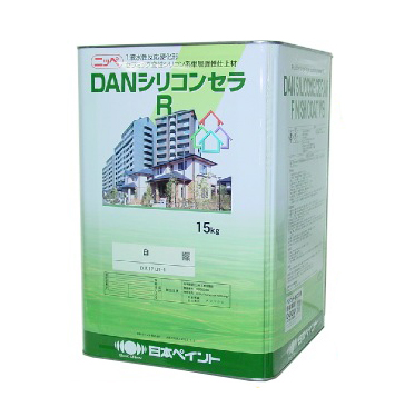 【送料無料】 ニッペ DANシリコンセラR ND色 淡彩 全48色 [15kg] 日本ペイント ※色の選択が2つに分かれています