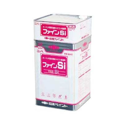 【送料無料】 ニッペ ファインSi ホワイト(ND-101) 艶調整 [16kgセット] 日本ペイント