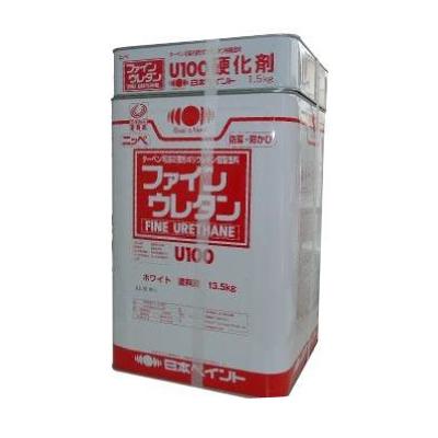 【送料無料】 ニッペ ファインウレタンU100 23-255(チョコ) [15kgセット] 日本ペイント