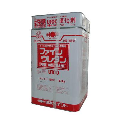 【送料無料】 ニッペ ファインウレタンU100 ND色 淡彩 全48色 [15kgセット] 日本ペイント ※色の選択が2つに分かれています