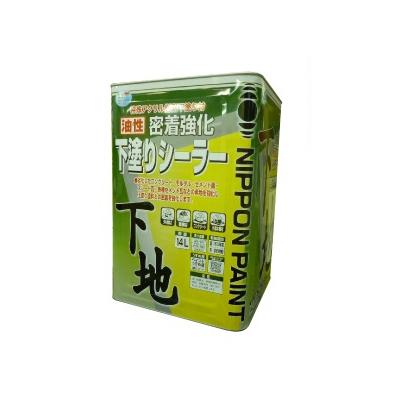【送料無料】 【送料無料】ニッペ 油性密着強化下塗りシーラー [14L] 日本ペイント・ニッペホーム・コンクリート・モルタル・床・外壁・瓦・油性