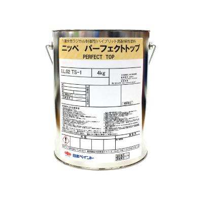 【エントリーでポイント5倍】 【弊社小分け商品】 ニッペ パーフェクトトップ ND-400 [4kg] ND色 日本ペイント