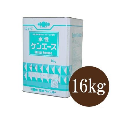【送料無料】 ニッペ 水性ケンエース つや消し白(ND-101) [16kg] 日本ペイント