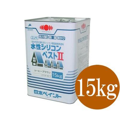 【送料無料】 ニッペ 水性シリコンベスト2 [15kg] 日本ペイント