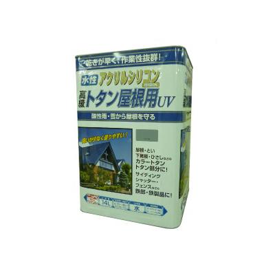 【送料無料】ニッペ 水性トタン屋根用UV [14L] 日本ペイント・ニッペホーム・赤さび・こげ茶・屋根・ひさし・鉄部・カラートタン・シャッター・水性