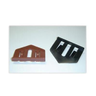 【送料無料】 タスペーサー02 ブラック [6000個入り] 約50平米分×12箱 セイム・縁切り部材・カラーベスト