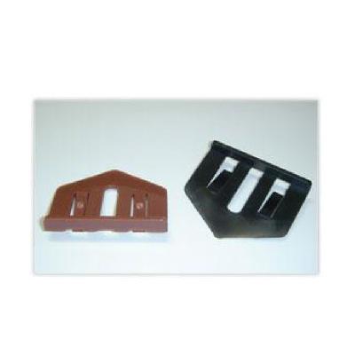 【送料無料】 約80m2施工セットタスペーサー02 ブラック [800個入りセット] セイム・縁切り部材・カラーベスト・屋根
