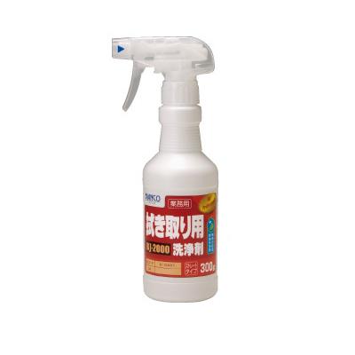 【送料無料】 BIANCO JAPAN 拭き取り用洗浄剤(トリガー付) [300g×24本] ビアンコジャパン・BJ-2000・ヤニ・油・水アカ・汚れ落とし・除去剤