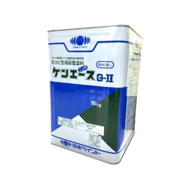 [R] 【エントリー全商品ポイント10倍 6/1~7/1】 【送料無料】 ニッペ ケンエースG-2 ND-012 [16kg] 日本ペイント 淡彩色 つや消しND色