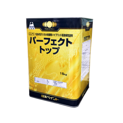 [R] 【エントリー全商品ポイント10倍 6/1~7/1】 【送料無料】 ニッペ パーフェクトトップ ND-530 [15kg] ND色 日本ペイント