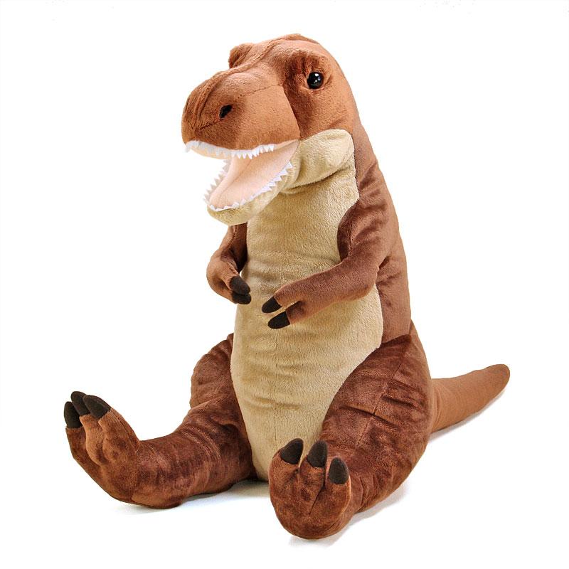 【恐竜 ぬいぐるみ ティラノサウルス Lサイズ おすわりシリーズ】 生物 大型 ビッグ 大きい クリスマス プレゼント 子供