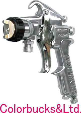 JGX-502-125-2.5S 2.5mm吸上式Devilbiss デビルビスJGX-502エアースプレーガン【カップ別売】(本体のみ)