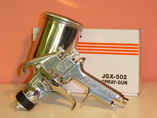 Devilbiss 데빌 비스 JGX-502-143-FF-G (1.4 mm) 중력식에 컵 장착 부 G1/4에 어 스프레이건 (본체만)