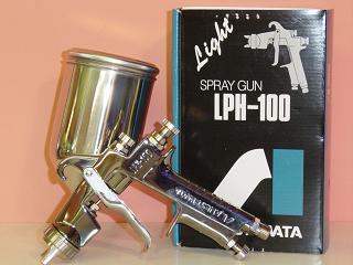 ANEST IWATA ANEST岩田LPH-100低压空气喷枪(茶杯分售)ANEST岩田Campbell CAMPBELL空气喷枪