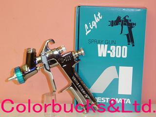 ANEST IWATA earnest rock field, W300WB-141G-water-based paint spray gun Cup (sold separately) earnest rock field, Campbell CAMPBELL feed air gun new release!
