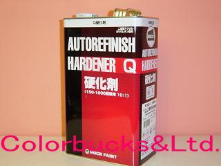 ロックペイント マルチトップクリヤーQ硬化剤 4kg車輌用クリアー10:1型
