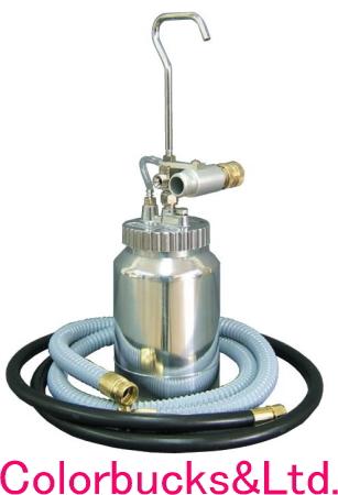 WAGNER 日本ワグナー【送料無料】HVLP低圧塗装機 キャップスプレー用オプション圧送タンクセット(J) HV9900以外用・手元ホース付HV690、HV8100、HV9100を圧送タンク仕様に※.ガン、本体は付属しません※.圧送アクセサリーセットが別途必要です
