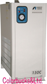 【RDG-75C】【代引不可】【送料無料】ANEST IWATA アネスト岩田冷凍式エアードライヤーRDG-75C処理空気量1200L/min適応コンプレッサー5.5~7.5kW(7.5~10馬力)まで三相200V仕様