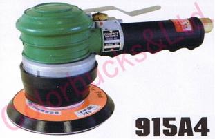 【915A4-MP】 【送料無料】コンパクトツールダブルアクション・サンダー 123パイマジック式パッド・非吸塵タイプ