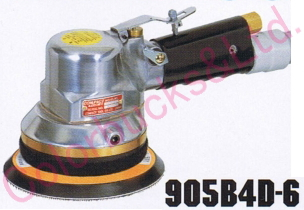 【905B4D-6 MP/LP】 【送料無料】コンパクトツールダブルアクションサンダーマジック式/のり式パッド・吸塵タイプシリーズ・エア駆動