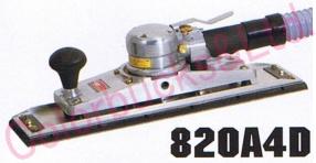 【送料無料】 【820A4D MP】 【送料無料】コンパクトツールロングオービタルサンダー 93×400マジック式パッド・吸塵タイプシリーズエア駆動
