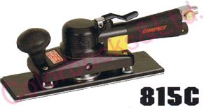 【815C MP/LP】 コンパクトツールオービタルサンダー(ロングタイプ) 73×238マジック式/のり式パッド・非吸塵タイプシリーズエア駆動
