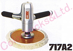 【717A2】 コンパクトツールバーティカルポリッシャー 180パイエアーポリッシャー