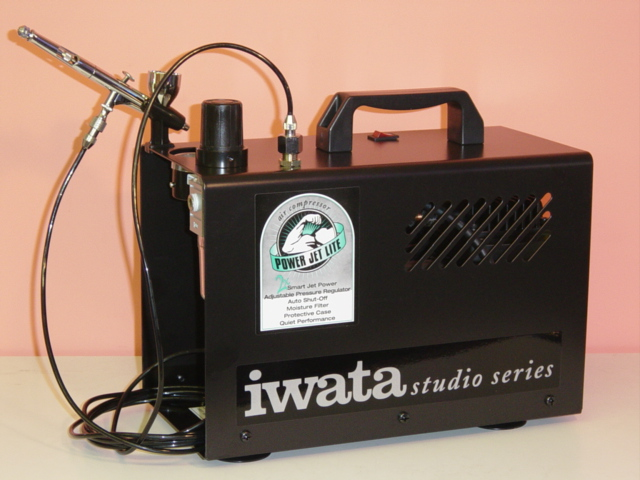 【送料無料】 【IS-876】【送料無料】ANEST iwataアネスト岩田イワタスタジオシリーズ【IS-875】のマイナーチェンジオイルフリーコンプレッサスマートジェットプロ エアブラシ用コンプレッサー MEDEAアネスト岩田キャンベル