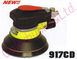 【917CD MP/LP】 【送料無料】コンパクトツールダブルアクションサンダーマジック式/のり式パッド・吸塵タイプシリーズ・エア駆動