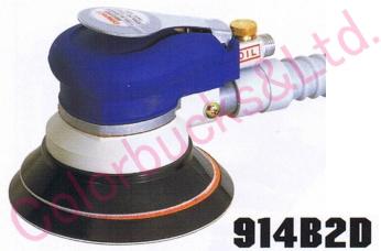 【914B2D MP/LP】 【送料無料】コンパクトツールダブルアクションサンダーマジック式/のり式パッド・吸塵タイプシリーズ・エア駆動
