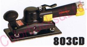 【803CD MP】(803C2D)【パットサイズ 98×175】 【送料無料】コンパクトツールオービタルサンダー(ショートタイプ) 【98×175】マジック式・吸塵タイプシリーズエア駆動