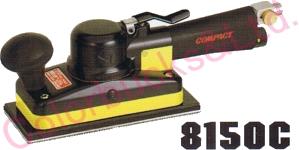 【8150C MP/LP】 【送料無料】コンパクトツールストレートサンダー 74×175マジック式/のり式パッド・非吸塵タイプシリーズエア駆動