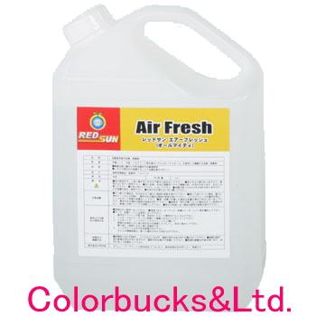 RED SUN レッドサンエアーフレッシュ・オールマイティ 4Lルームクリーニング用除菌・洗浄剤カークリーニングシステム