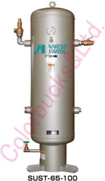 《代引不可》アネスト岩田コンプレッサー補助空気タンク 1500LSAT-1501C-85(内面エポキシ塗装)アネスト岩田キャンベル CAMPBELL