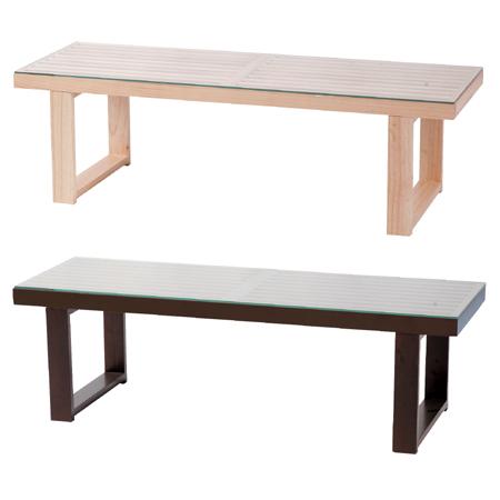 ガラステーブル NE 天然木 ( センターテーブル ローテーブル リビングテーブル 机 コーヒーテーブル 送料無料 ) 【4500円以上送料無料】