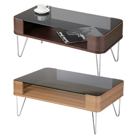 コーヒーテーブル Lumas S ( センターテーブル ローテーブル リビングテーブル 机 ガラステーブル 送料無料 ) 【4500円以上送料無料】