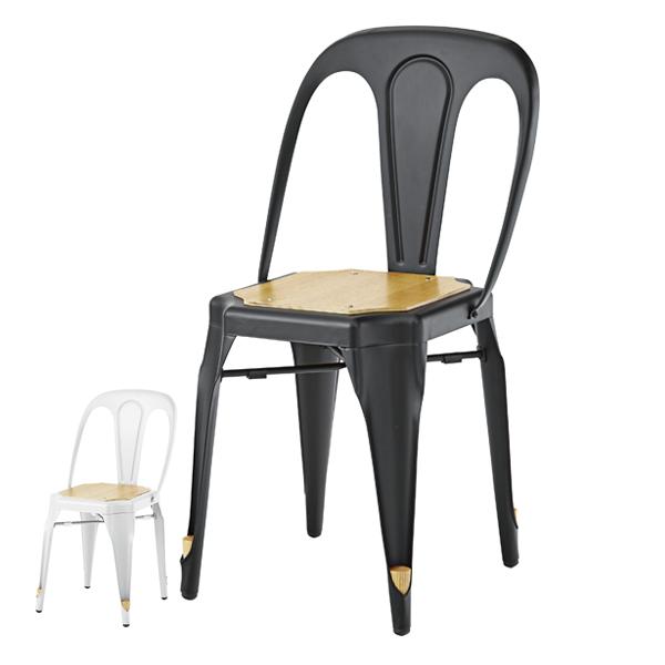 チェア 座面高約46cm 椅子 スチール ( 送料無料 イス ダイニングチェア ダイニングチェアー チェアー いす 食卓椅子 リビングチェア スチールフレーム )【4500円以上送料無料】