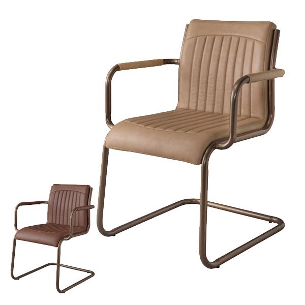 チェア 座面高約46cm 椅子 スチール ソフトレザー ( 送料無料 イス ダイニングチェア ダイニングチェアー チェアー いす 食卓椅子 リビングチェア 合皮 スチールフレーム )【4500円以上送料無料】