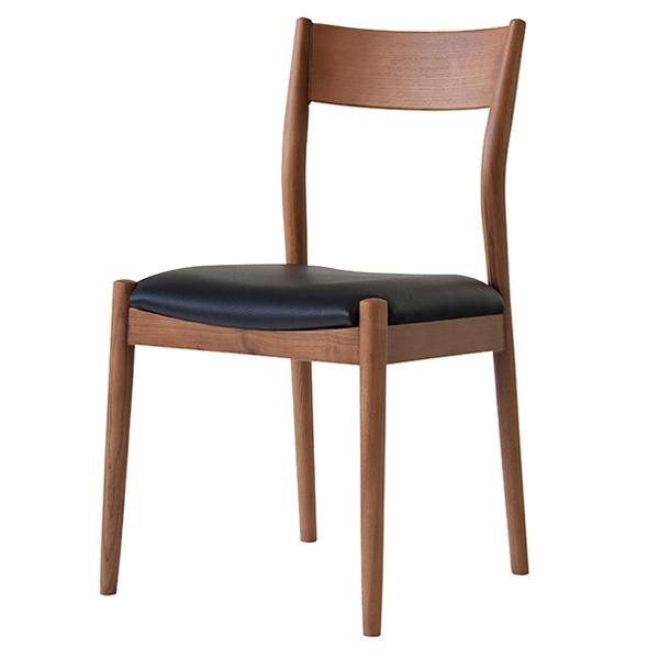 チェア 座面高48cm オフィス 椅子 イス 合皮 木製 天然木 ( 送料無料 いす ダイニングチェア 木製チェア 食卓椅子 リビングチェア 木製椅子 ダイニング 食卓 おしゃれ 北欧 木目 ナチュラル リビング )【3980円以上送料無料】